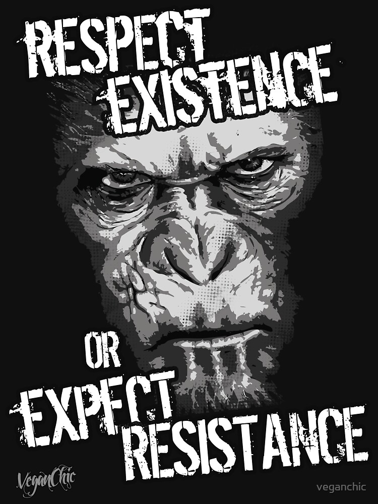 VeganChic ~ Respect Existence by veganchic