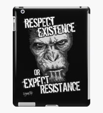VeganChic ~ Respect Existence iPad Case/Skin