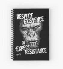 VeganChic ~ Respect Existence Spiral Notebook