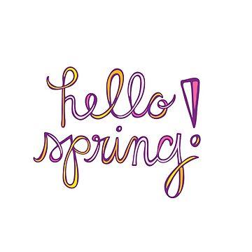 Hallo Frühling! von mschmidtdesigns