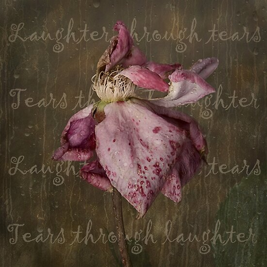 Laughter through tears . . . by Rosalie Dale