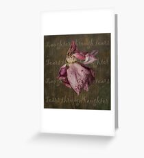 Laughter through tears . . . Greeting Card