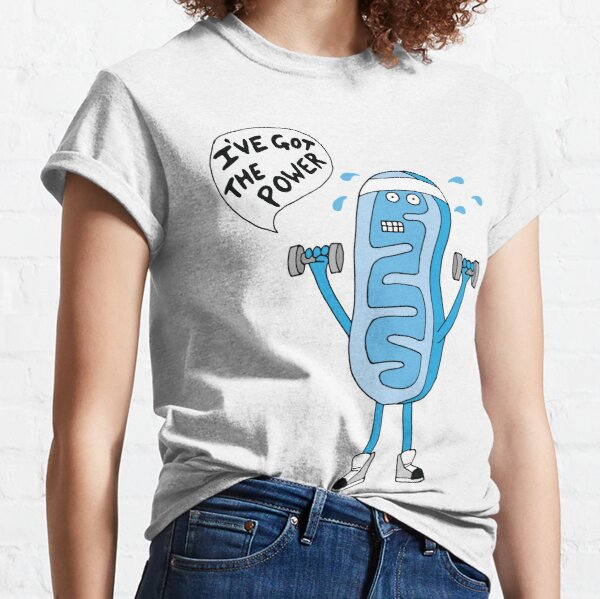 Funny Mitochondria - I've Got The Power of Biology  Classic T-Shirt
