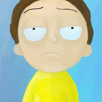 Morty Smith Oil by HollyPrice