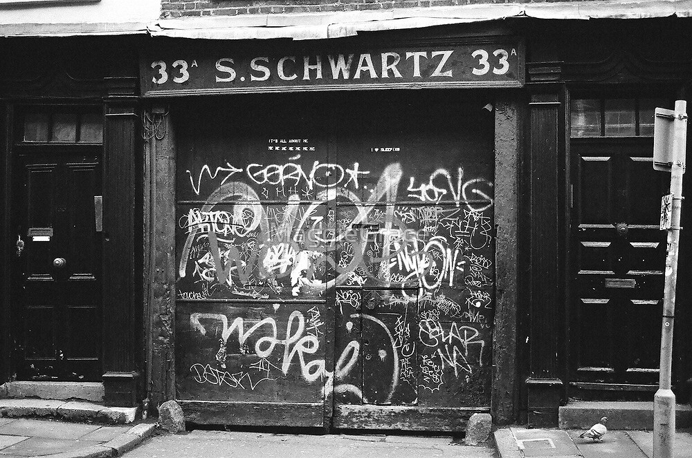 London Alley Graffiti by MaggieGrace