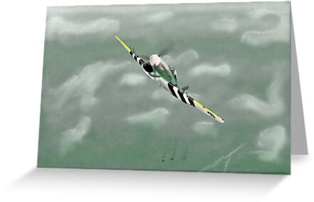 Hawker Typhoon D-Day 1944 by Oswald-Grimm