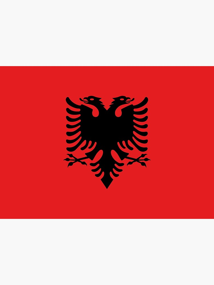 Flag of Albania by ArgosDesigns