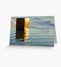 Pool Block  Greeting Card