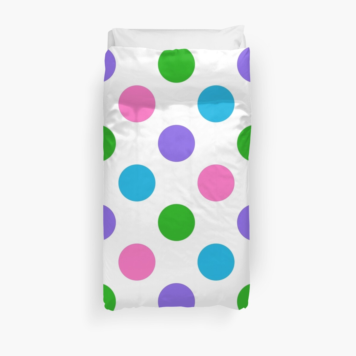 Mulit Color Polka Dots by Designedwithtlc