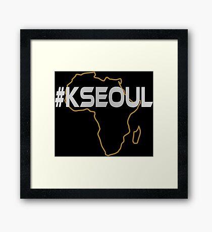 #KSEOUL Third Culture Series Framed Print