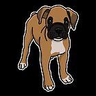 «Boxer, perro, dibujo» de nijess