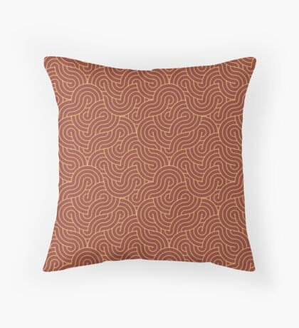 SWIRL / Bloody Mary Throw Pillow