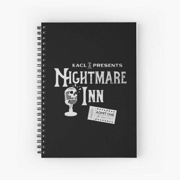 KACL Nightmare Inn Spiral Notebook