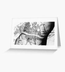 Body Maps - Ancient London - Torso Greeting Card