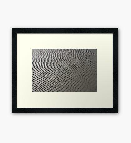 The Oceans Work Of Art Framed Print