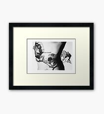 Body Maps - Windsor and Maidenhead - Back Framed Print