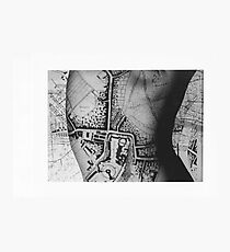 Body Maps - Windsor - Back Photographic Print