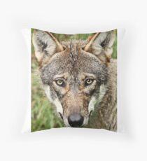 Canis Lupus Throw Pillow