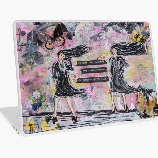 Stronger than Yesterday Laptop Skin