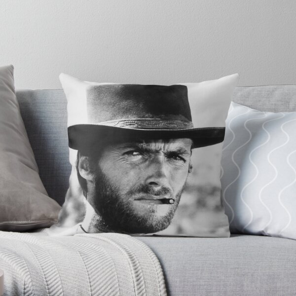 Clint Eastwood Coussin