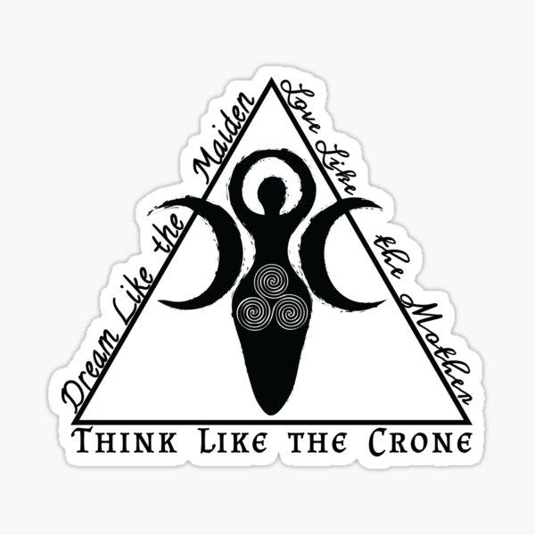 Think Like the Crone Sticker