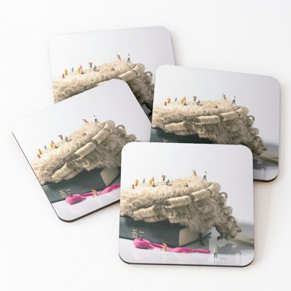 The Administration of Justice Coasters (Set of 4)