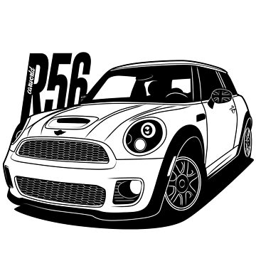 Mini JCW R56 Best Shirt Design by CarWorld
