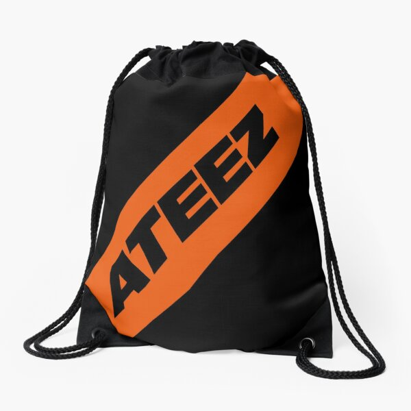 ATEEZ - BLACK Drawstring Bag