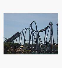 The Incredible Hulk Coaster Photographic Print