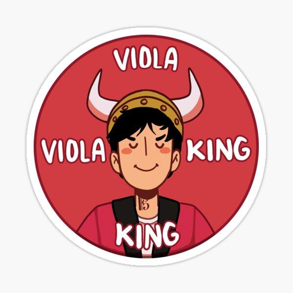VIOLA KING Sticker