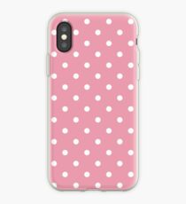 Pink Polka dot iPhone Case