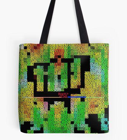 STR ^^T ART by NUMB^RS [1] (ascii art) Tote Bag