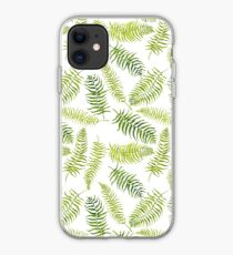 Fern Limelight iPhone Case