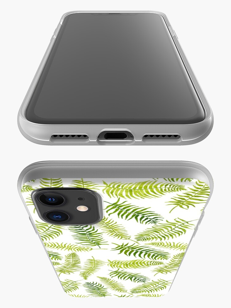 Alternate view of Fern Limelight iPhone Case & Cover