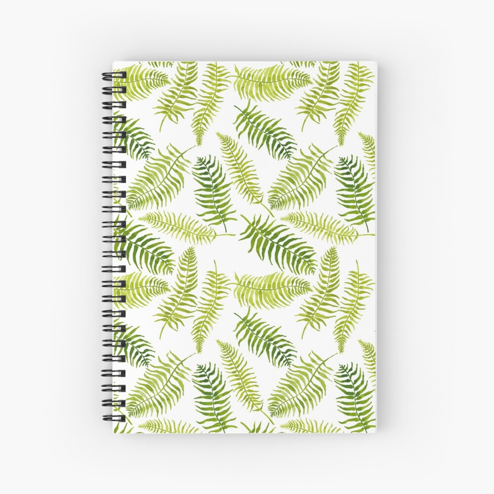 Fern Limelight Spiral Notebook