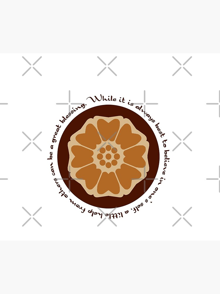 White Lotus Iroh Quote Duvet Cover By Orangeturtle Redbubble