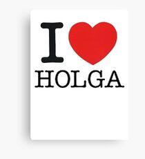 I ♥ HOLGA Canvas Print