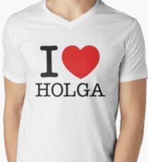 I ♥ HOLGA Men's V-Neck T-Shirt