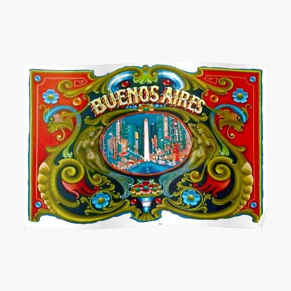 Fileteado de Buenos Aires Poster