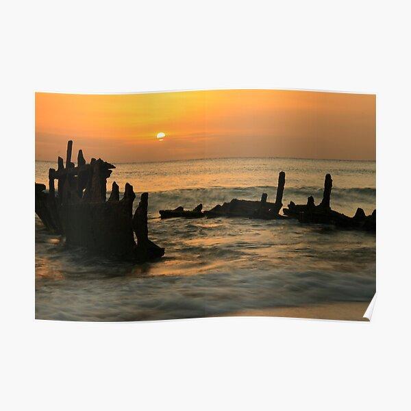 Sunrise on Dicky Poster