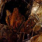 Maze of Strairs - Tham Nang Aen Cave, Laos. by Tiffany Lenoir
