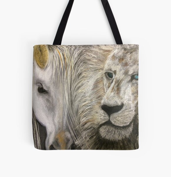 Paradox Horse All Over Print Tote Bag