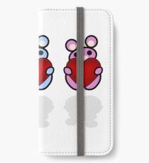 Three Chibis: Hearts iPhone Wallet/Case/Skin