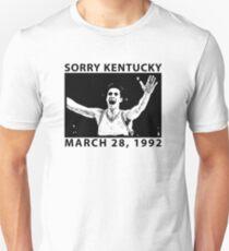 Sorry Kentucky - Christian Laettner  Unisex T-Shirt
