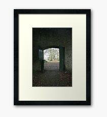 ADVANCE Framed Print