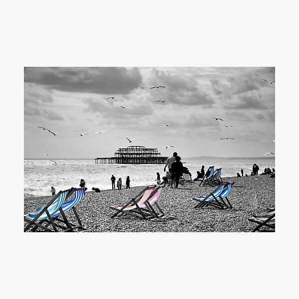 Brighton Seaside Photographic Print
