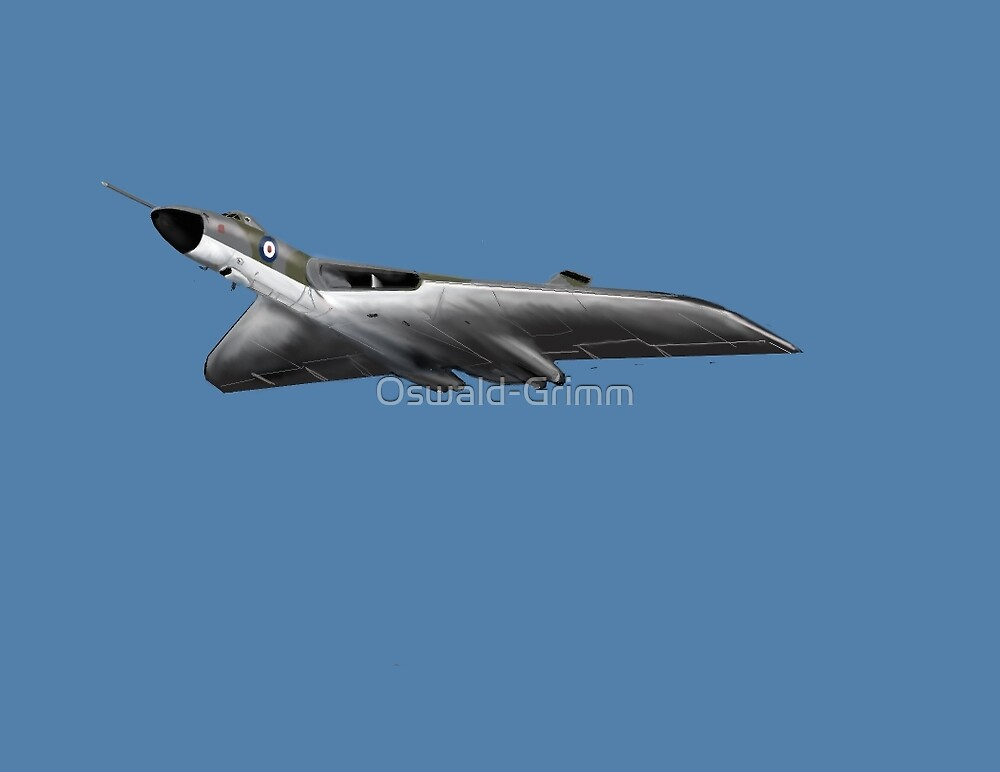 Vulcan Bomber  by Oswald-Grimm