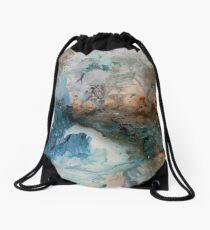 The Blue Planet Drawstring Bag
