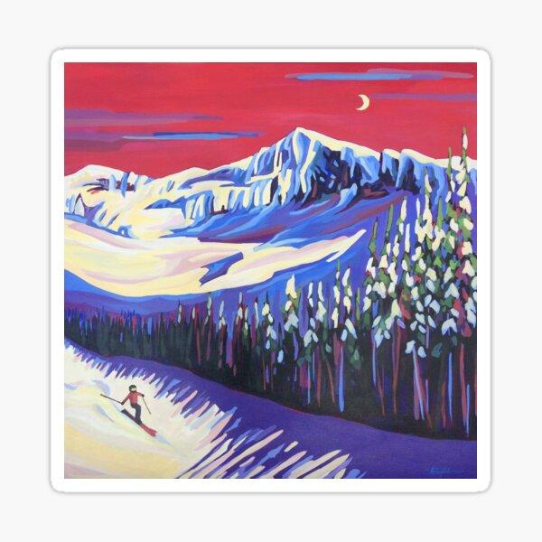 Skier's Delight Sticker
