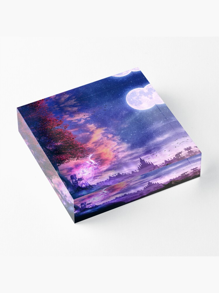 Alternate view of A Place For Fairy Tales Acrylic Block